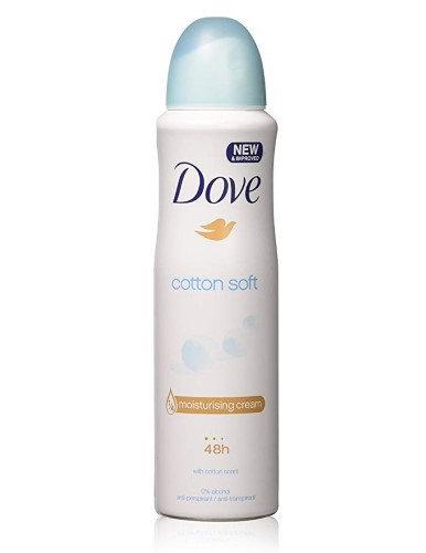 Dove Cotton Soft Deo 150ml
