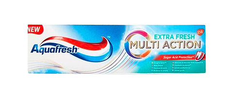 Aquafresh Multi Action Extra Fresh Toothpaste 75ml