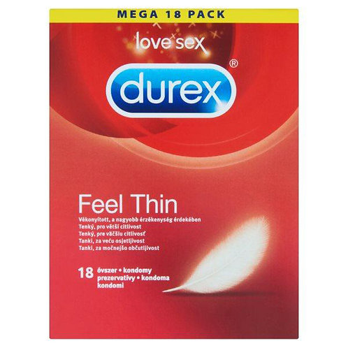 Durex Feel Thin (18 Pack)