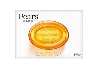 Pears Pure & Gentle with Natural Oils Soap 125g