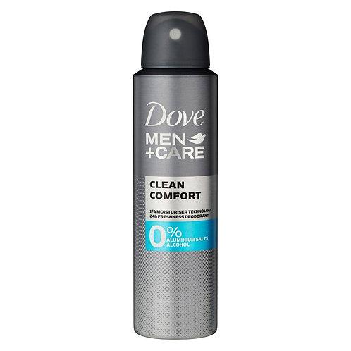 Dove Men+Care Clean Comfort Deo 150ml