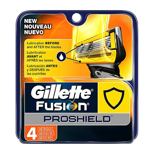 Gillette Fusion Proshield Cartridge Blades (4 Pack)