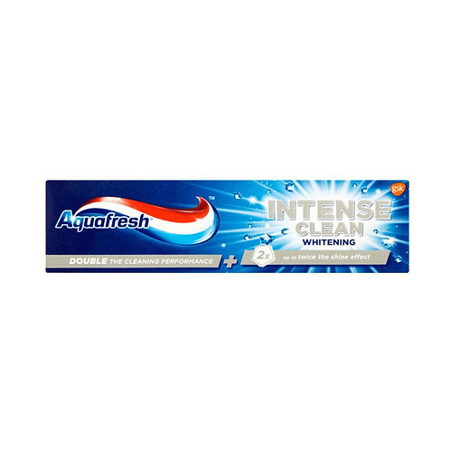 Aquafresh Intense Clean Whitening Toothpaste 75ml