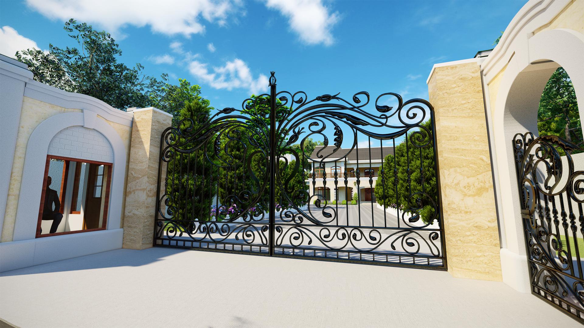 Entrance Gate01