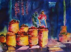 The chilli vendor