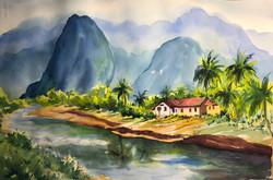 A hidden village