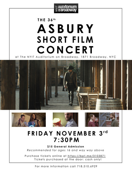 36th Annual Asbury Shorts Concert Tonight!