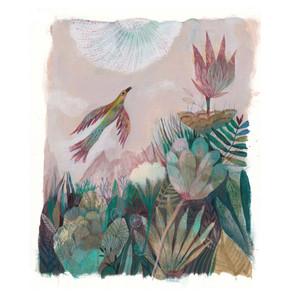 Oiseau-Fleurs-Vertes-HR-Painting-2020.jp