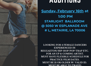 Dancers needed for Music Video