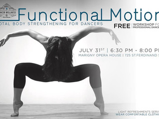 Functional Motion Workshop for Dancers