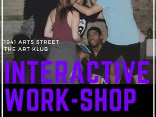 "Artivism ""Interactive Workshop"""