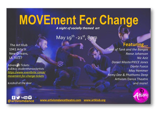 MAY 19-21: MOVEment for Change