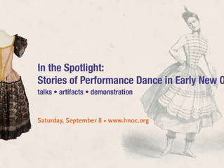 In the Spotlight: Stories of Performance Dance in Early New Orleans