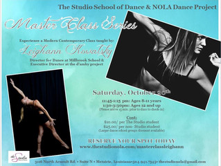 Master Class Series with Leighann Kowalsky