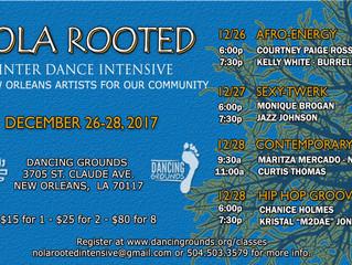 NOLA Rooted 2017: Winter Dance Intensive