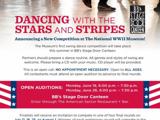 Auditions for Stars and Strips Competition
