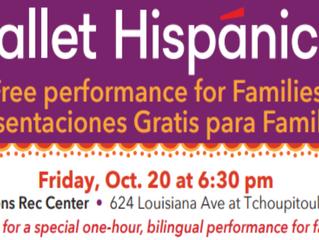 Free Ballet Hispanico Performance for Families