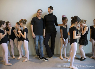 Real-life ballet love story keeps growing in New Orleans