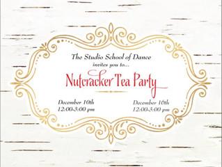 Nutcracker Tea Party