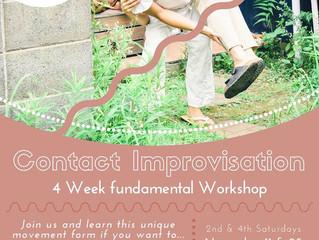 Contact Improvisation Workshop with  Ryuta Dutah Iwashita Suderman