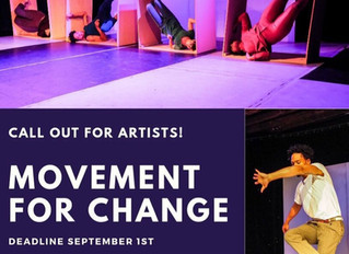 CALL FOR ARTISTS- Movement for Change