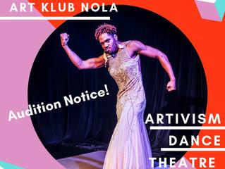 AUDITION: Artivism Dance Theatre