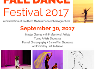 The Mary C. O'Keefe Cultural Center Presents Fall Dance Festival 2017
