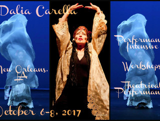 Dalia Carella - NOLA Performance Intensive & Weekend Workshops