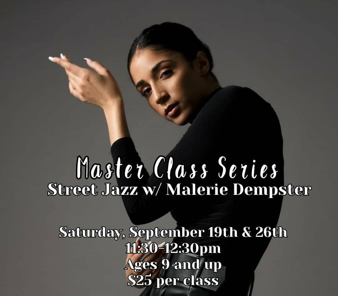 Street Jazz with Malerie Dempster