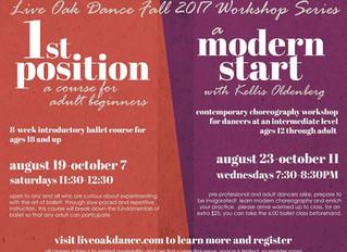 Ballet and Modern Workshops