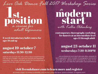 Ballet and Modern Workshops