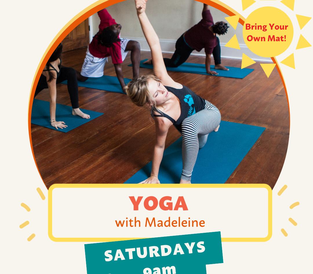 Yoga at Mandeville Wharf