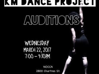 KM Dance Project Audition