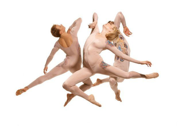 "Dancers from Taylor 2, the traveling company established by legendary choreographer Paul Taylor, will perform ""Dust"" and five other works in New Orleans during a three-day stand at Marigny Opera House, March 5-7. (Tom Cararvoglia)"
