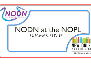 NODN at the NOPL Summer Series