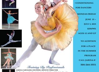 Summer Intensives 2015: Live Oak Dance Ballet Summer Intensive