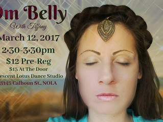 Om Belly with Tiffany at Crescent Lotus