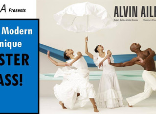 Alvin Ailey American Dance Theater Master Class