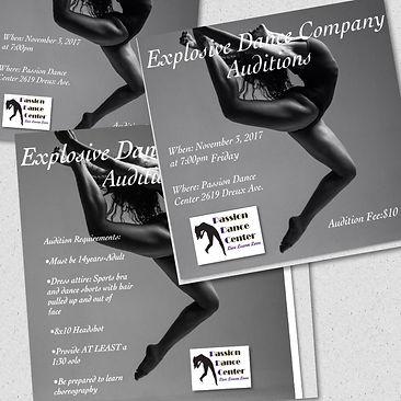 Explosive Dance Company Auditions | nola-dance-network