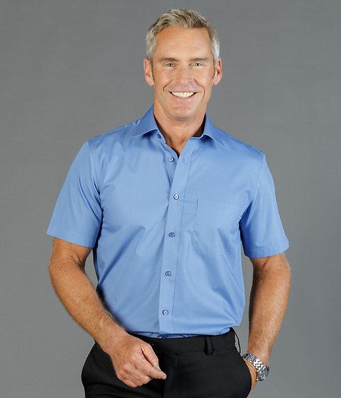 Nicholson Short Sleeve Poplin Shirt Mens