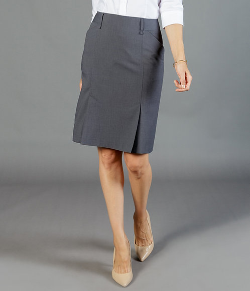Elliot Box Pleat Skirt