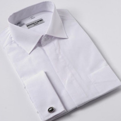 French cuff business shirt