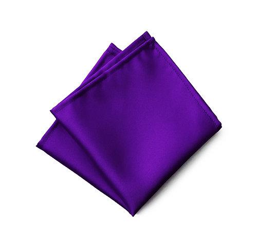 Italian Dark Satin Pocket square