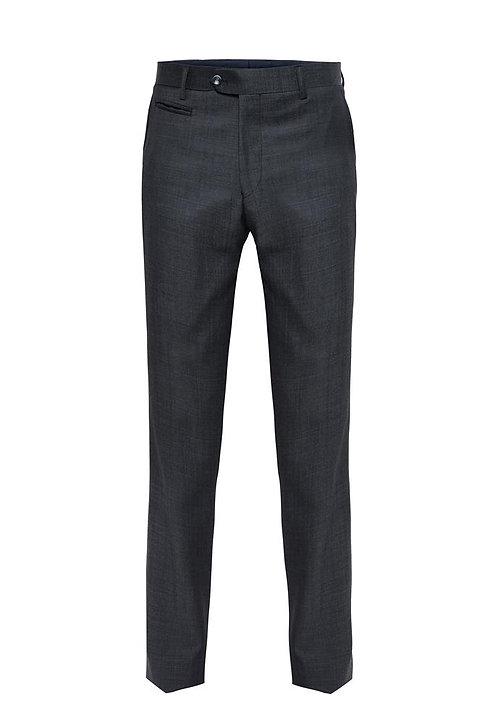 C1 Charcoal Luxury Pin Dot Trousers
