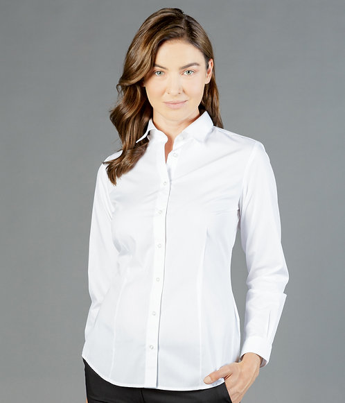 Nicholson Poplin Long Sleeve Womens