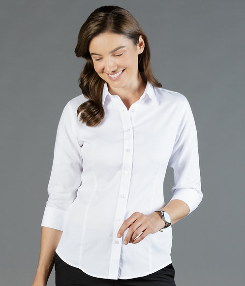 Ultimate White Business Shirt Womens