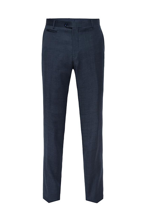 C2 Navy Luxury Pin Dot Trousers