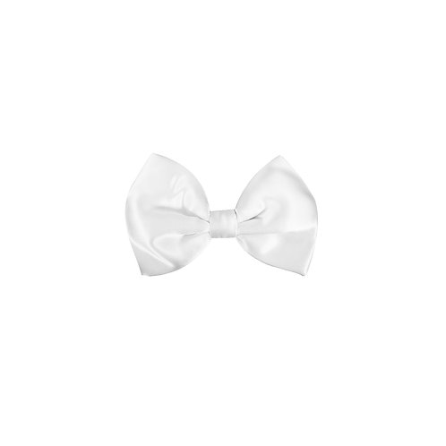 Maxims Pure Silk Satin Bow Tie