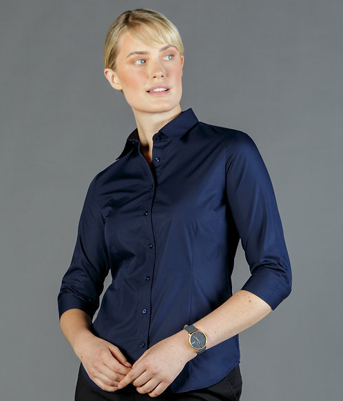 3/4 Sleeve Premium Poplin Shirt