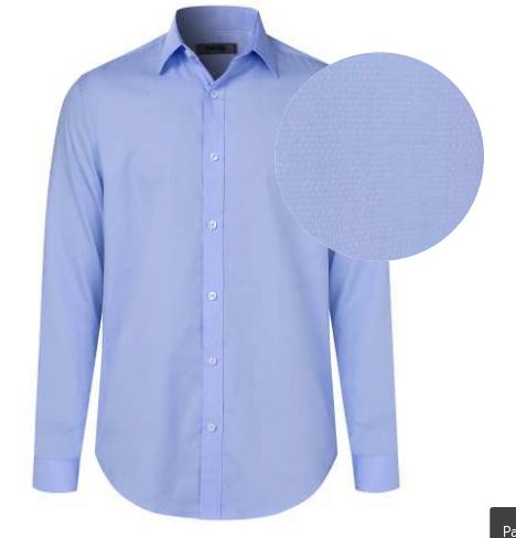 Maurio Mens Long Sleeve Self Pattern shirt